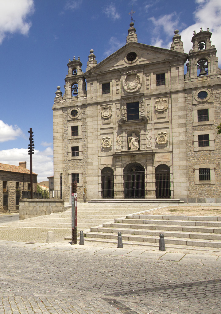 Convent of Santa Teresa on the Plaza la Santa in Avila, Spain